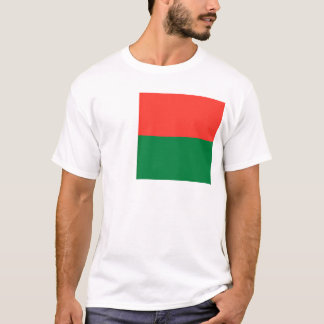 Low Cost! Madagascar Flag T-Shirt