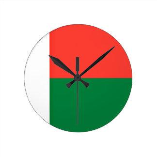 Low Cost! Madagascar Flag Wall Clocks