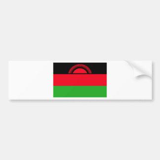 Low Cost! Malawi Flag Bumper Sticker