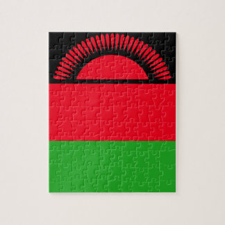Low Cost! Malawi Flag Jigsaw Puzzle