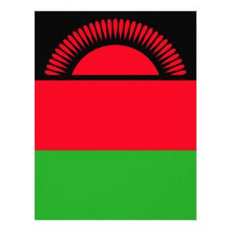 Low Cost! Malawi Flag Letterhead