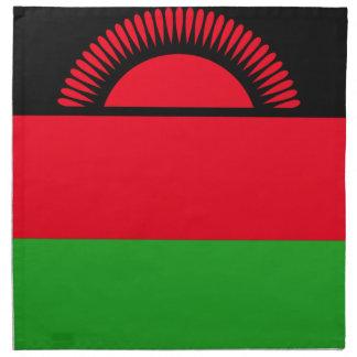 Low Cost! Malawi Flag Napkin