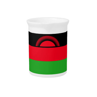 Low Cost! Malawi Flag Pitcher