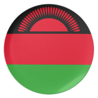 Low Cost! Malawi Flag Plate