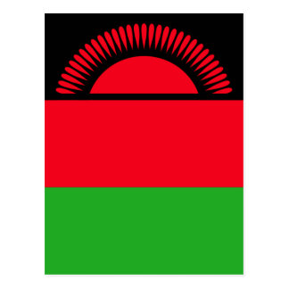 Low Cost! Malawi Flag Postcard
