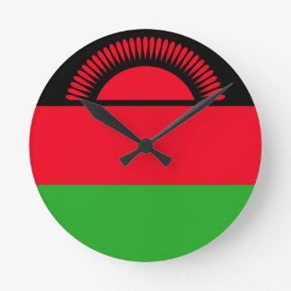 Low Cost! Malawi Flag Wallclock