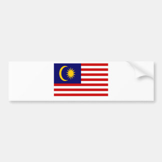 Low Cost! Malaysia Flag Bumper Sticker