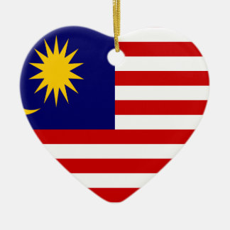 Low Cost! Malaysia Flag Ceramic Ornament