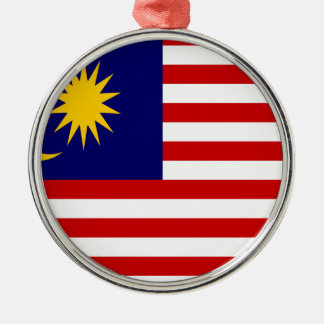 Low Cost! Malaysia Flag Metal Ornament