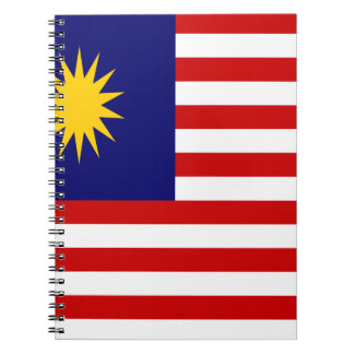 Low Cost! Malaysia Flag Notebooks