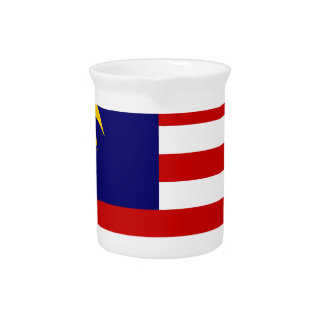 Low Cost! Malaysia Flag Pitcher