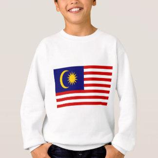 Low Cost! Malaysia Flag Sweatshirt