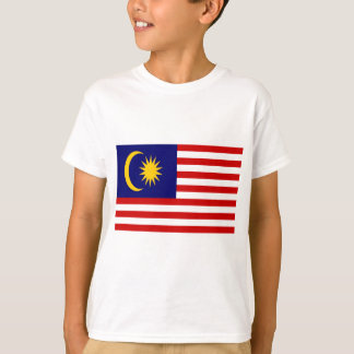 Low Cost! Malaysia Flag T-Shirt