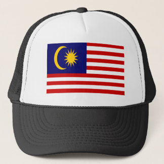 Low Cost! Malaysia Flag Trucker Hat