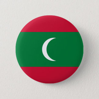 Low Cost! Maldives Flag 2 Inch Round Button