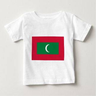 Low Cost! Maldives Flag Baby T-Shirt