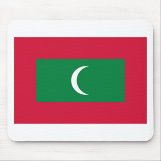 Low Cost! Maldives Flag Mouse Pad