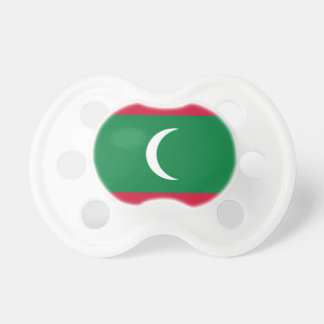 Low Cost! Maldives Flag Pacifier