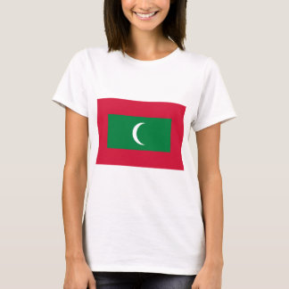 Low Cost! Maldives Flag T-Shirt