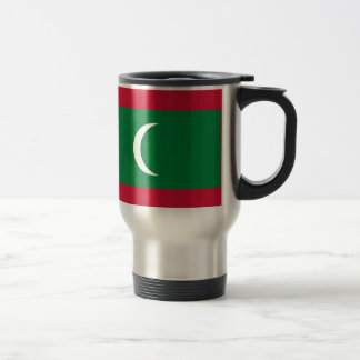Low Cost! Maldives Flag Travel Mug