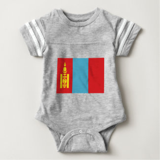Low Cost! Mongolia Flag Baby Bodysuit