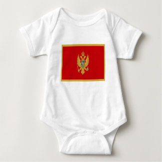Low Cost! Montenegro Flag Baby Bodysuit