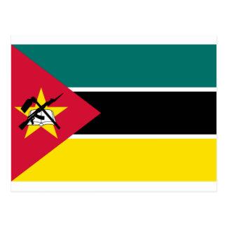 Low Cost! Mozambique Flag Postcard