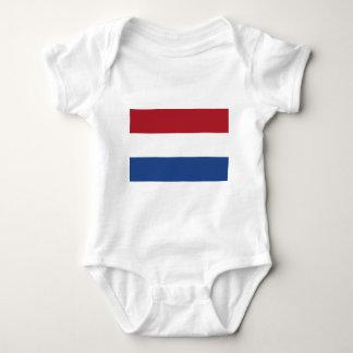 Low Cost! Netherlands Flag Baby Bodysuit