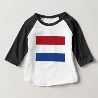 Low Cost! Netherlands Flag Baby T-Shirt