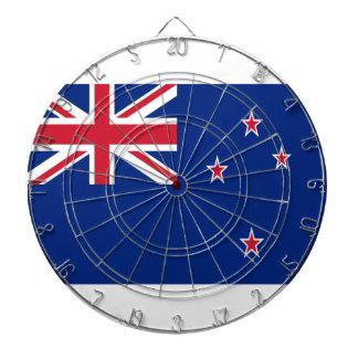 Low Cost! New Zealand Flag Dartboard