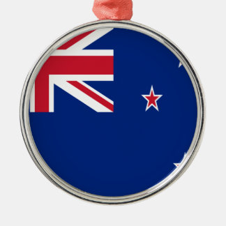 Low Cost! New Zealand Flag Metal Ornament