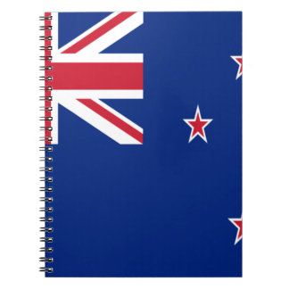 Low Cost! New Zealand Flag Notebook