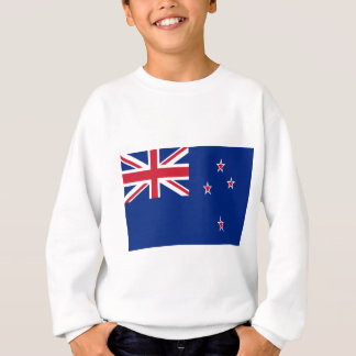 Low Cost! New Zealand Flag Sweatshirt