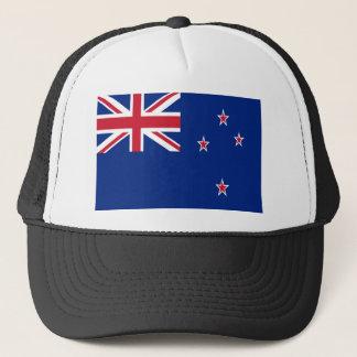 Low Cost! New Zealand Flag Trucker Hat