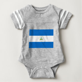Low Cost! Nicaragua Flag Baby Bodysuit