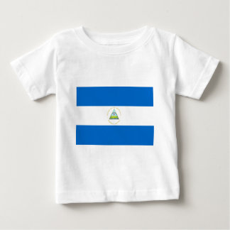 Low Cost! Nicaragua Flag Baby T-Shirt