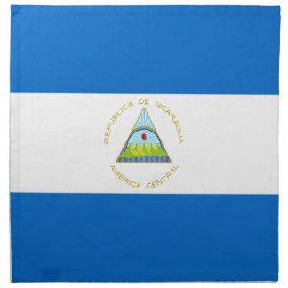 Low Cost! Nicaragua Flag Cloth Napkin