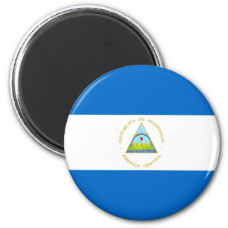 Low Cost! Nicaragua Flag Magnet