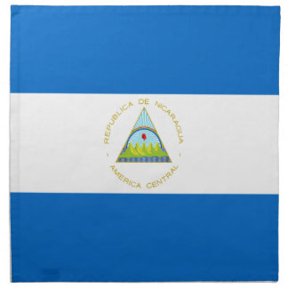 Low Cost! Nicaragua Flag Napkin
