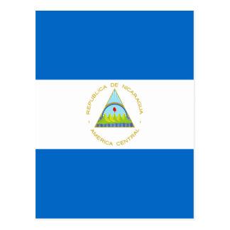 Low Cost! Nicaragua Flag Postcard
