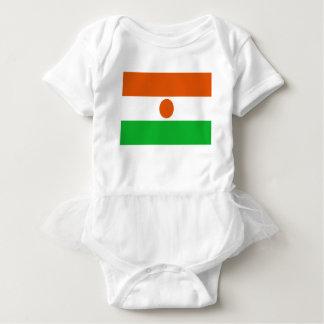 Low Cost! Niger Flag Baby Bodysuit