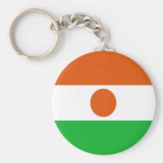Low Cost! Niger Flag Keychain
