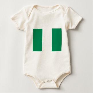 Low Cost! Nigeria Flag Baby Bodysuit