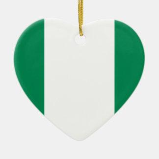 Low Cost! Nigeria Flag Ceramic Ornament