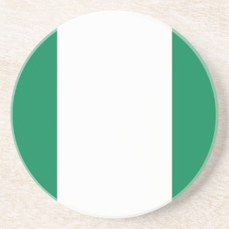 Low Cost! Nigeria Flag Coaster