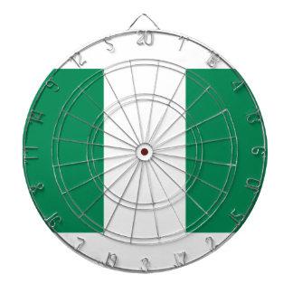 Low Cost! Nigeria Flag Dartboard