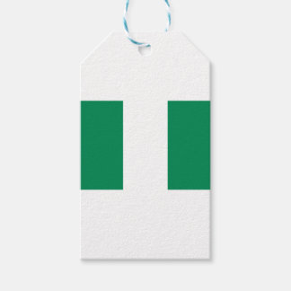 Low Cost! Nigeria Flag Gift Tags
