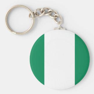 Low Cost! Nigeria Flag Keychain