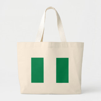 Low Cost! Nigeria Flag Large Tote Bag