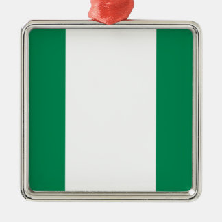 Low Cost! Nigeria Flag Metal Ornament
